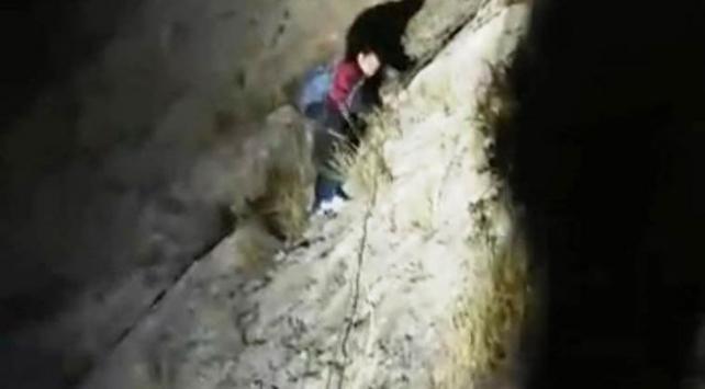 Batmanda dağda mahsur kalan 11 kişi kurtarıldı