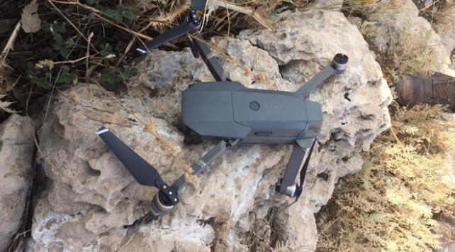 Siirt'te teröristlere ait drone ele geçirildi
