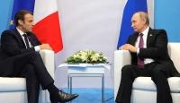 Putin ile Macron telefonda Ukrayna ve Suriye'yi görüştü