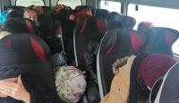 Çanakkale'de 114 düzensiz göçmen yakalandı