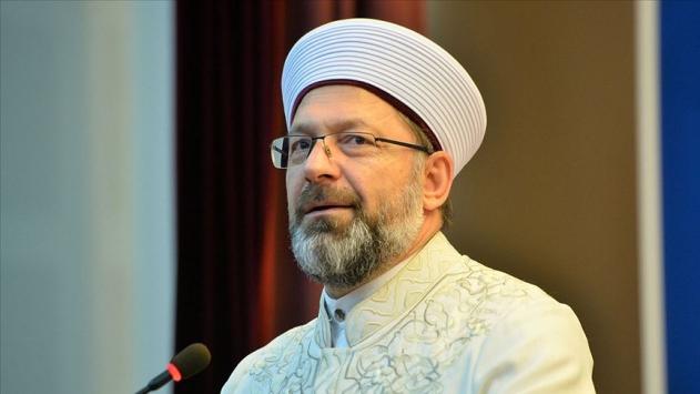 Diyanet İşleri Başkanı Erbaş, Norveçte Kuran-ı Kerime yapılan saygısızlığı kınadı