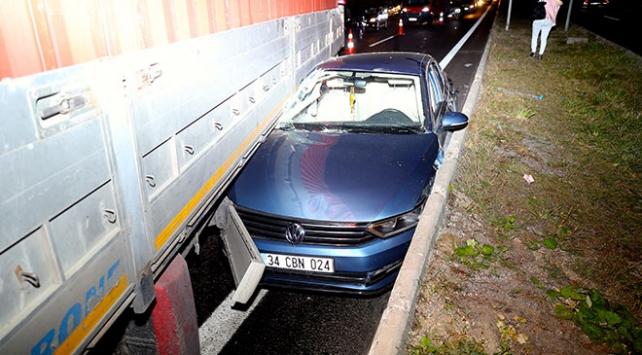 Anadolu Otoyolunda zincirleme trafik kazası