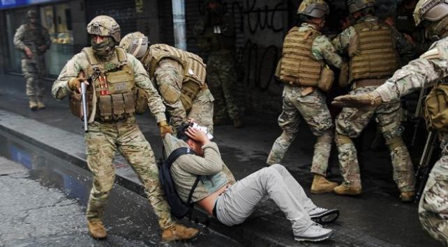 Şili Devlet Başkanı protestoculara orantısız güç kullanıldığını kabul etti