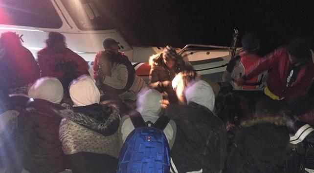 Balıkesirde 41 düzensiz göçmen yakalandı