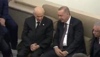 Cumhurbaşkanı Erdoğan ile Bahçeli bir araya geldi