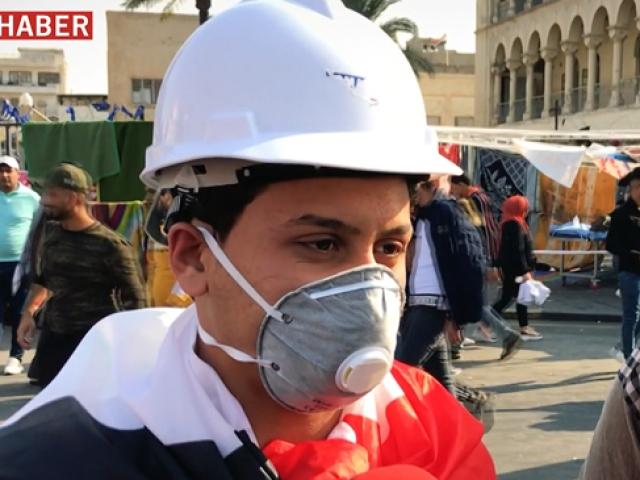 Iraklı eylemci: Biz vatan istiyoruz