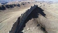 Sivas'ın Çin Seddi'ni andıran kayalıkları