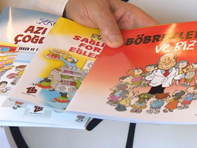 """Obezite """"Böbrek Dede"""" ile okullarda anlatılıyor"""