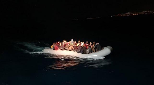 Aydında 55 düzensiz göçmen yakalandı
