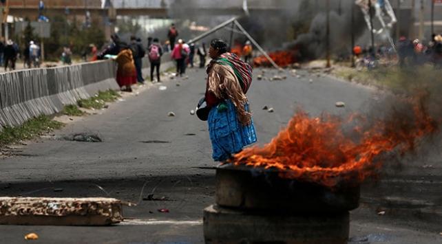 Bolivyada güvenlik güçlerinin müdahalesinde 3 kişi öldü
