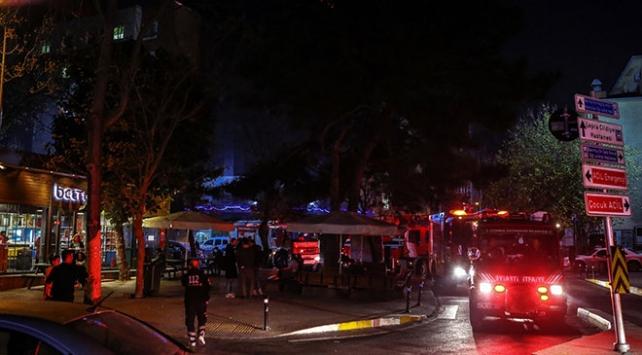 Bakırköyde hastane yangını