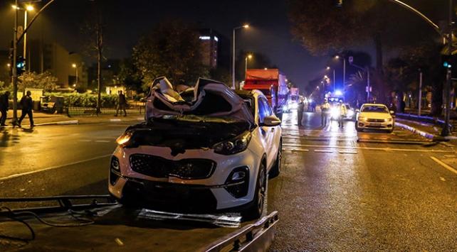 İstanbulda cipin çarptığı yaya öldü