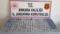 Ankara'da 430 parça tarihi eser ele geçirildi