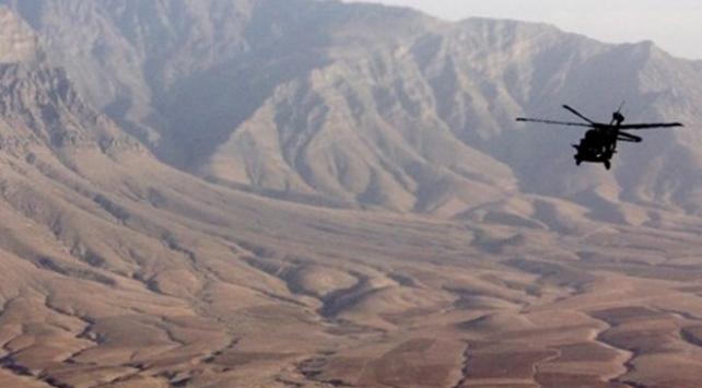 Afganistanda ABDye ait askeri helikopter düştü: 2 ölü