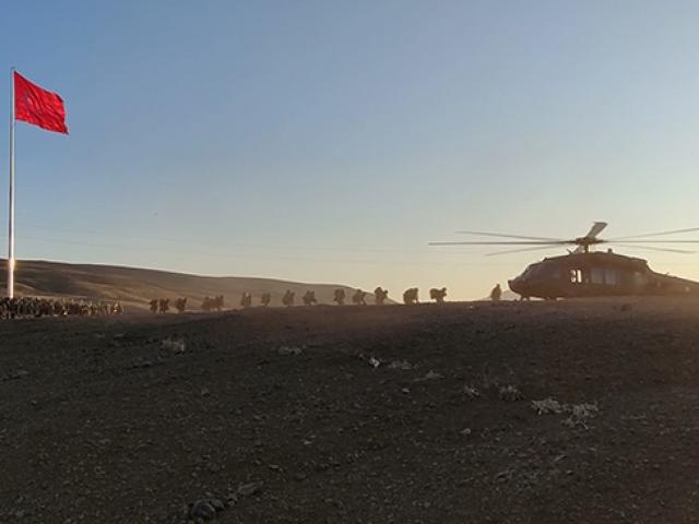 TRT Haber Kıran-5'in sürdüğü Şenyayla bölgesine girdi