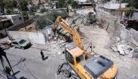 İsrail askerleri Batı Şeria'da Filistinlilere ait 2 evi yerle bir etti