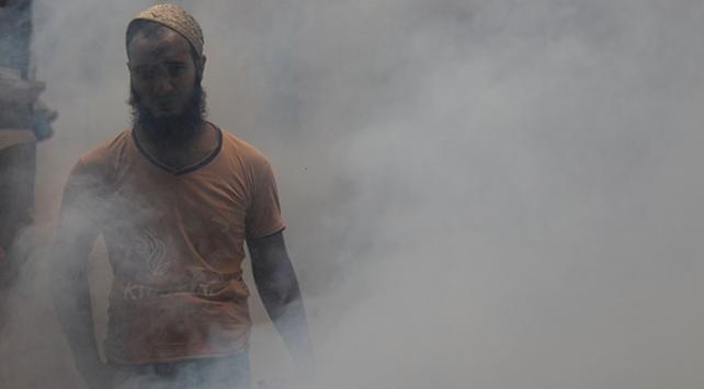 Hindistanda hava kirliliğine neden oldukları suçlamasıyla 22 çiftçi gözaltına alındı