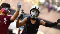 Hong Kong'da protestocular yine sokakları doldurdu