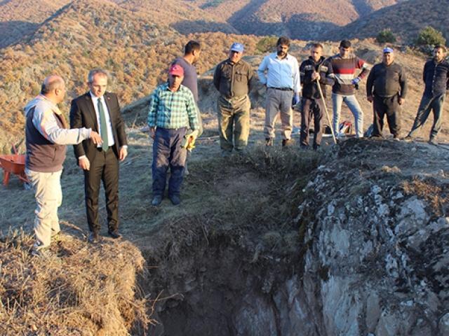 Kastamonu'daki Gavur Kayalıklarında kurtarma kazısı başladı