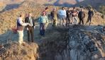 Kastamonudaki Gavur Kayalıklarında kurtarma kazısı başladı