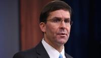 """ABD Savunma Bakanı Esper, Çin'i """"komşularının gözünü korkutmakla"""" suçladı"""