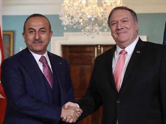 Dışişleri Bakanı Çavuşoğlu, ABD'li mevkidaşı Pompeo ile görüştü
