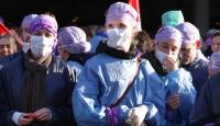 Hollanda'da 150 bin hastane çalışanı greve gitti