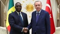 Cumhurbaşkanı Erdoğan Senegal Cumhurbaşkanı Sallar ile bir araya geldi