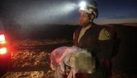 İran destekli gruplardan İdlib'de sığınmacı kampına füze saldırısı