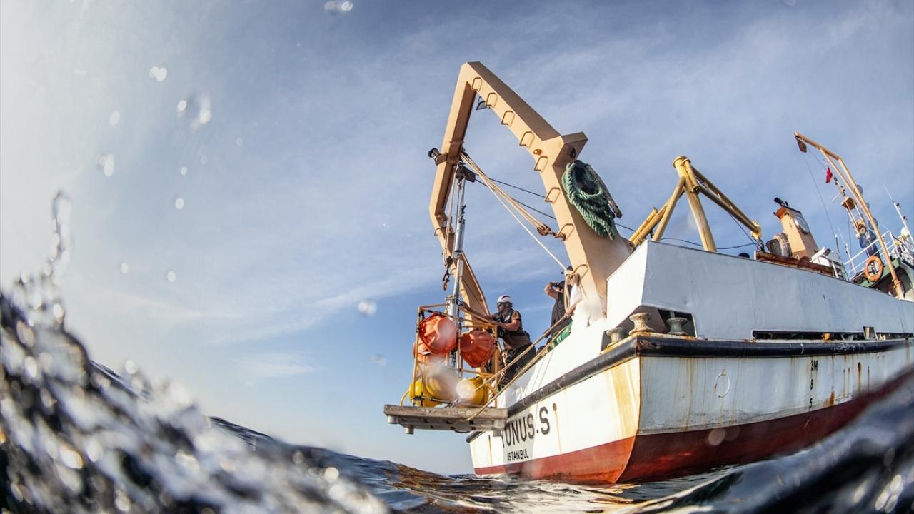 Marmara Denizinde deprem araştırması