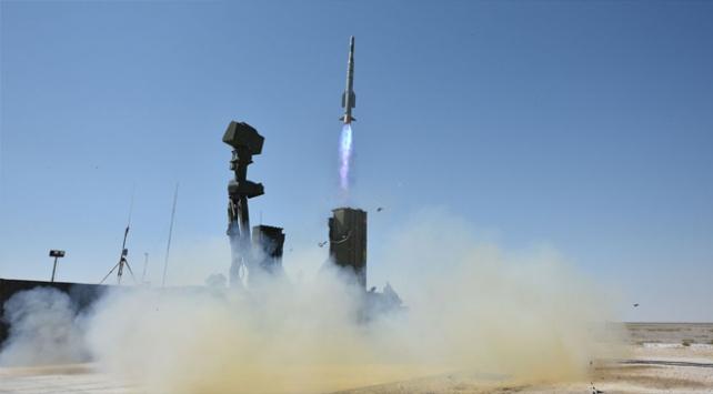 Yerli hava savunma sistemi HİSAR-A göreve hazır