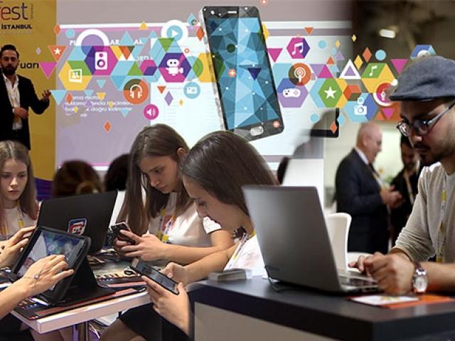 Mobil uygulama fuarı Mobilefest'e yoğun ilgi