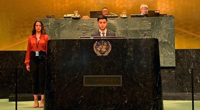 Türk çocuklar BM kürsüsünden seslendi: Mülteciler konusunda Türkiyeyi örnek alın