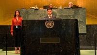 Türk çocuklar BM kürsüsünden seslendi: Mülteciler konusunda Türkiye'yi örnek alın