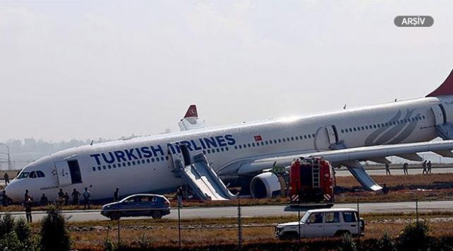 THY'nin uçağı Odessa Havalimanı'nda pist dışına çıktı