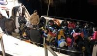 Tekirdağ ve İzmir'de 84 düzensiz göçmen yakalandı