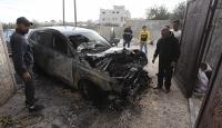 Yahudi yerleşimciler Batı Şeria'da Filistinlilere ait 4 aracı yaktı