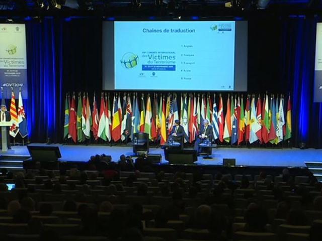 """""""Uluslararası Terör Kurbanları Kongresi"""" Fransa'da başladı"""
