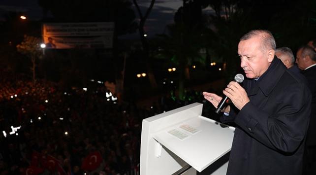 Cumhurbaşkanı Erdoğan: YPGye 33 bin tır silah verildi, depoları bulduk topluyoruz