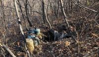 Bingöl'de el bombası tuzaklanan sığınak imha edildi