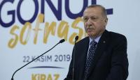Cumhurbaşkanı Erdoğan: Terör örgütü ile arasına mesafe koyan herkese kapımız açık