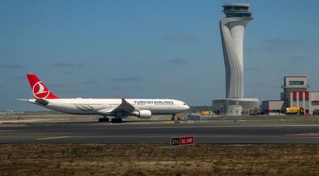 İstanbul Havalimanında günde ortalama bin 204 sefer