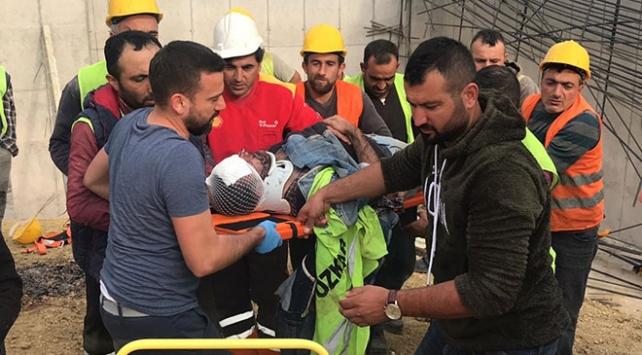 Kuzey Marmara Otoyolu inşaatında iş kazası: 4 işçi yaralandı