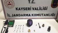 Kayseri'de Roma dönemi tarihi eserler ele geçirildi