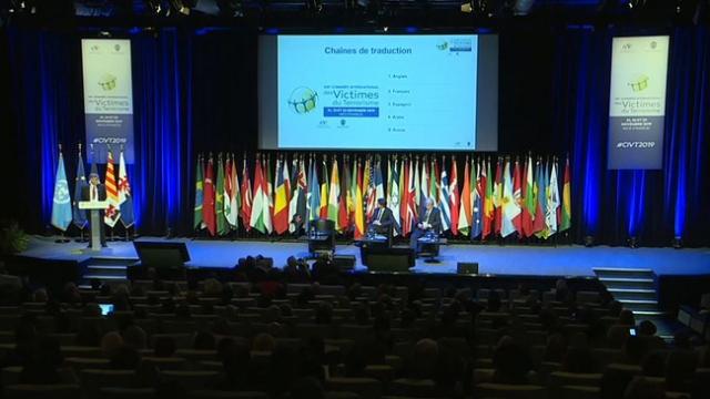 Uluslararası Terör Kurbanları Kongresi sona erdi