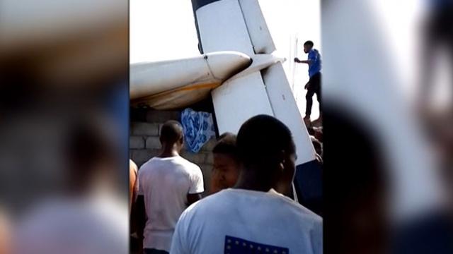 Demokratik Kongo Cumhuriyeti'nde uçak düştü