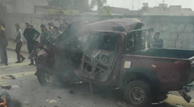 Azezde bombalı araçla saldırı: 2 ölü, 3 yaralı