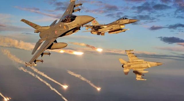 Irakın kuzeyinde 7 terörist etkisiz hale getirildi