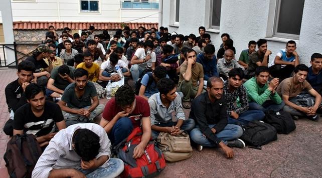 Edirnede 517 düzensiz göçmen yakalandı