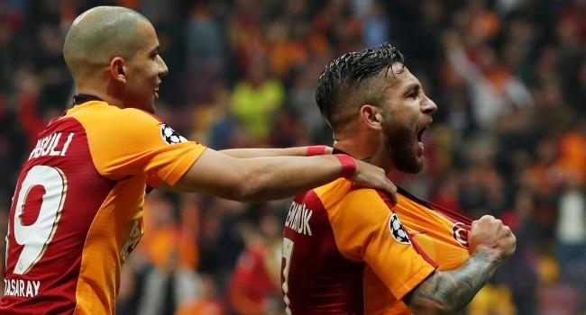 Galatasarayın ilk golü Adem Büyükten